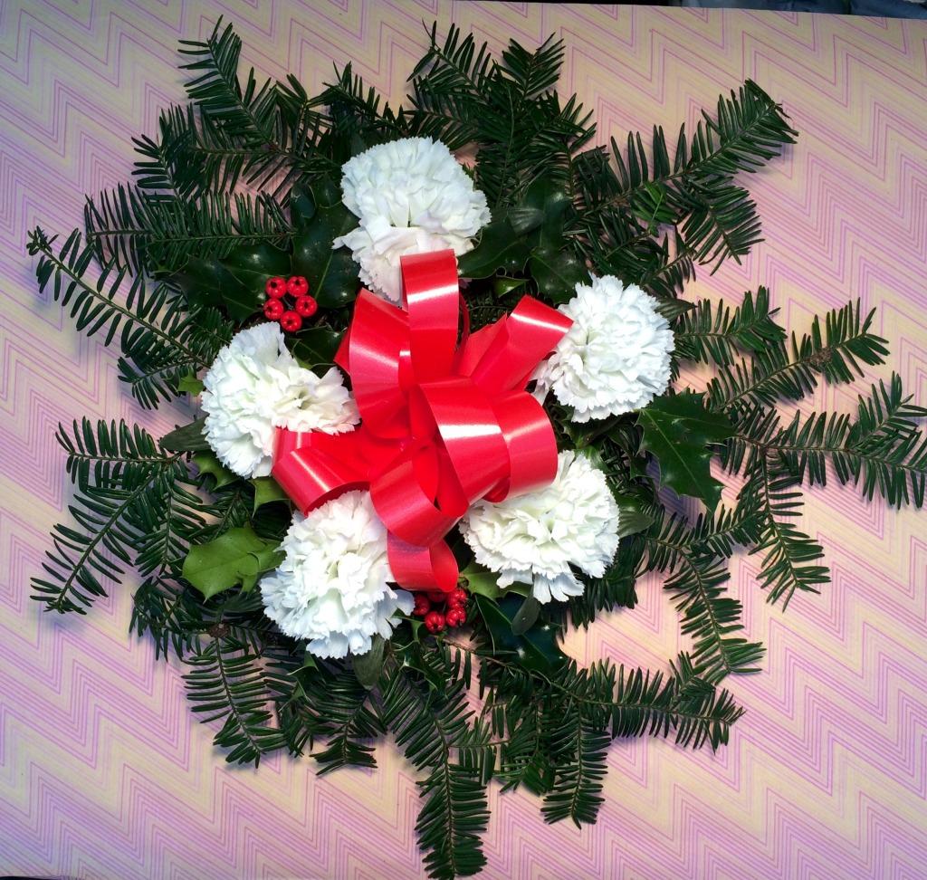 Fresh Holly Wreaths